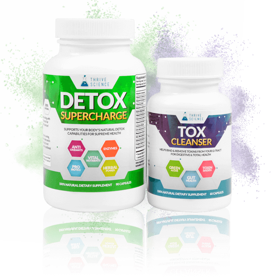 Thrive Detox System - Detox Supercharge + Tox Cleanser